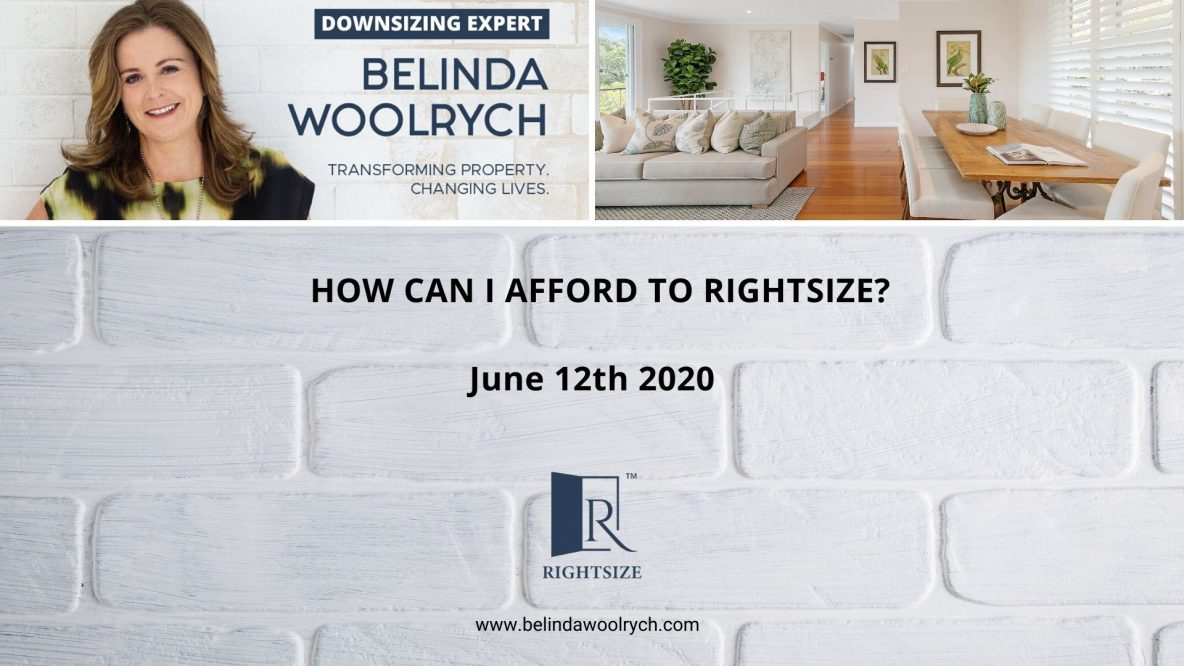 How Can I Afford To Rightsize_